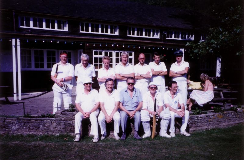 The Badgers President's XI during the 1989 President's game