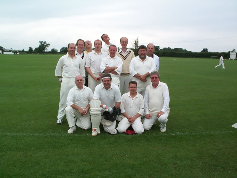 The Badgers before the Sunday game of the 2000 tour